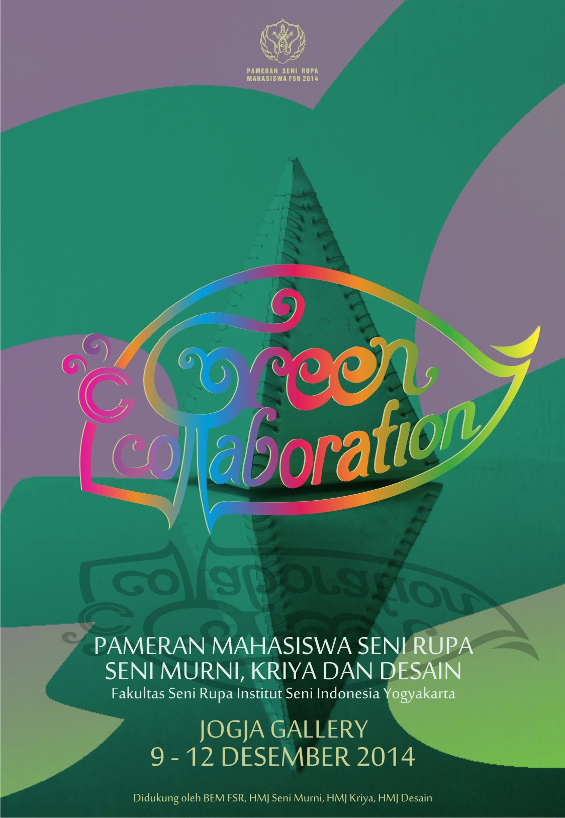Pameran Green Collaboration Isi Jogja Institut Seni