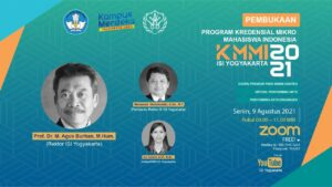 ISI Yogyakarta Sukseskan Program KMMI 2021 Dengan Selenggarakan Tiga Kursus